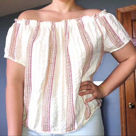 Maurices Tops - Maurice's Off the Shoulder Top
